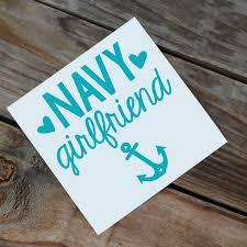 Navy Girlfriend Wife Mom Car Decal Mom Car Navy Girlfriend Car Decals