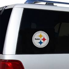 Pittsburgh Steelers Decals Pittsburgh Steelers Window Decals Pittsburgh Steelers Glass Tatz Nfl Logo Cutz Side Windshield Graphic Decals