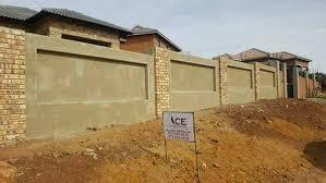 Boundary Wall Roodepoort Precast Walls Concrete Walls Brick Walls