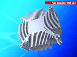 50w pure aluminium heat sink radiator