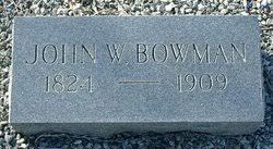 John Wesley Bowman (1824-1909) - Find A Grave Memorial