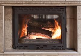 how to clean fireplace glass window