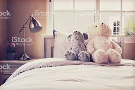 Vintage Photo Of Kids Room With Dolls On Bed Stock Photo Download Image Now Istock