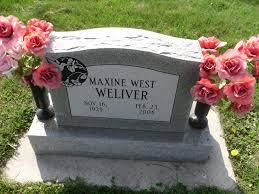 Maxine West Weliver (1929-2008) - Find A Grave Memorial