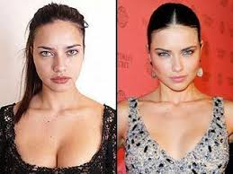 supermodels look like without makeup
