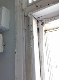 exterior door casing in old house
