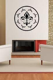 Decals That Dazzle Fleur De Lis Wall Decal 15 00 Wall Decals Wall Home Decor Decals