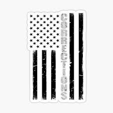 Correctional Officer Stickers Redbubble