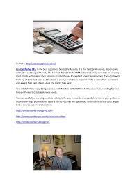 Preston parker cpa | Document profile