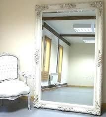 diy leaning floor mirror