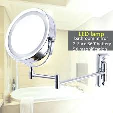 bathroom mirrors magnifying extending