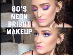 80 s themed makeup tutorial you
