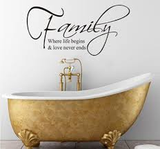 family quotes wall stickers wall aticker quotes for bedrooms