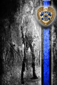 thin blue line wallpaper to
