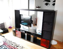 expedit tv storage with rotating tv