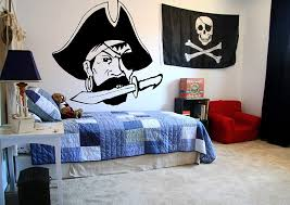 Amazon Com Pirate Wall Decals For Boys Room Pirate Ship Jolly Roger Map Crossbones Pirate Decorations For Home Nursery Room Pirate Door Stickers Pi078 Home Kitchen