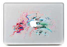 Watercolor Architectur Personality Vinyl Decal Laptop Sticker For Macbook Pro Air 13 Inch Cartoon Laptop Skin Shell For Mac Book Stickers For Macbook Laptop Stickerdecal Laptop Stickers Aliexpress