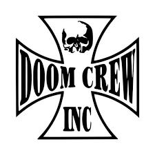 Doom Crew Vinyl Decal Sticker