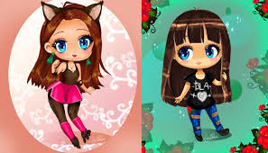 draw cute chibi cartoon anime portrait