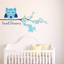 Owl Stickers For Walls Owl Wall Decals For Nursery Wall Decal World