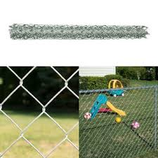 Yardgard Yardgard 4 X 10 Ft Chain Link Fabric Repair Roll Fencing Galvanized 12 Gauge New