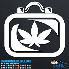 Medical Marijuana Case Vinyl Car Wall Decal Sticker Graphic
