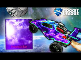 The Best Mystery Decal In Rocket League Interstellar New Youtube