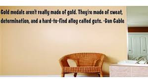 Design With Vinyl Gold Medals Aren T Really Made Of Gold Dan Gable Wall Decal Wayfair