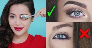 simple makeup for big eyes saubhaya