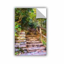 Charlton Home Redkey Rocky Steps Removable Wall Decal Wayfair
