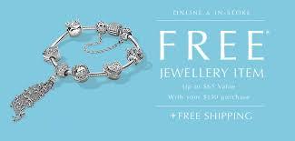 promotion alert free pandora jewellery