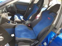 swapping v8 blobeye sti seats with