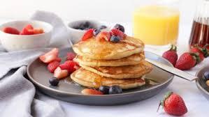 milk free egg free pancakes recipe