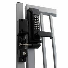 keyless security locks for gates and
