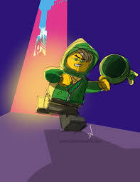 Lego Ninjago Movie digital quick sketch of Lloyd — The Art of Dan  Veesenmeyer