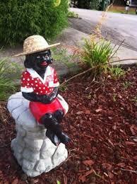 girl statue outdoor pond cement garden