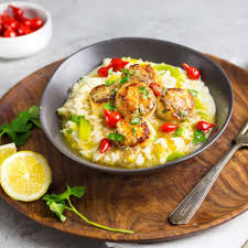 Seared Scallops with Leek Risotto - a ...