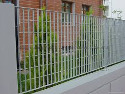 Hot Dipped Galvanized Steel Grating Fence Arquitectura Cuyos