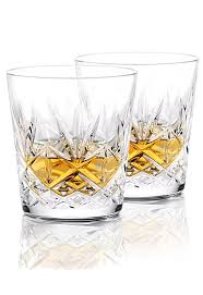 huntley old fashioned whiskey glasses