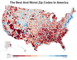 Zip Codes To Live In America ...