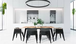 30 black white dining rooms that work