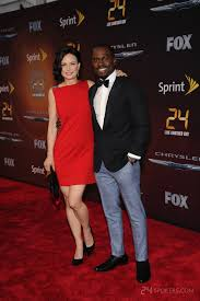 Mary Lynn Rajskub and Gbenga Akinnagbe at 24: Live Another Day ...