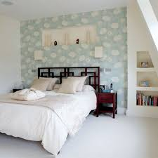 65 bedrooms with wallpaper accent walls