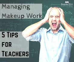 make up work in the secondary clroom