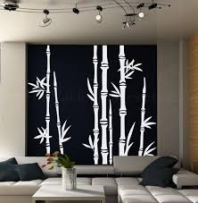 Line Your Wall With This Beautiful Bamboo Forest Decal Here Is A Beautiful Bamboo Wall Mural That M Tree Wall Decal Living Room Bamboo Wall Asian Wall Decals