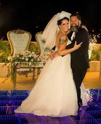 Queen of Horror' Weds U.S. Navy War Hero in Star-Studded Celebrity Wedding