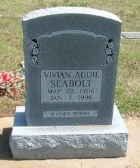 Vivian Addie King Seabolt (1906-1996) - Find A Grave Memorial