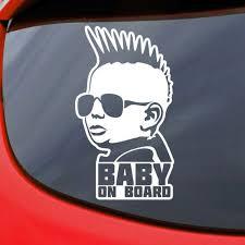 Baby On Board Car Decal Vinyl Sticker Window Bumper Etsy