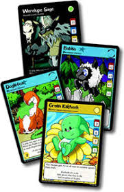 neopet trading card game singles