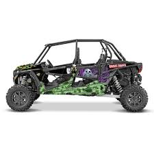 D Cor Visuals Polaris 4 Door Graphic Kit Gravedigger Motosport Legacy Url